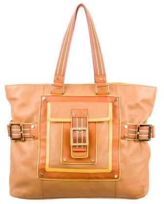 Tory BurchTory Burch Buckle Accented Leather Tote
