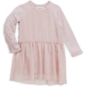 Sovereign Code Girls' Stassi Raglan Chiffon Dress - Little Kid, Big Kid