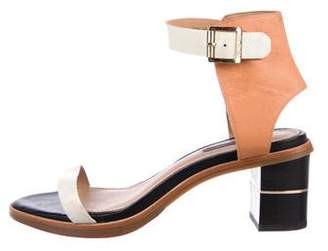 Rachel Zoe Leather Ankle Strap Sandals