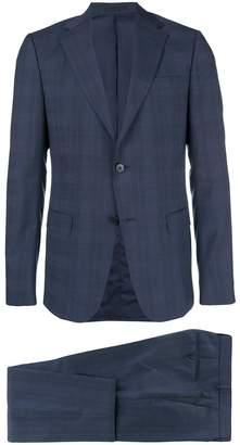 Ermenegildo Zegna plaid slim-fit suit