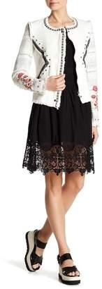 Desigual Charito Lace Hem Skirt