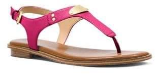 MICHAEL Michael Kors Plate Slingback Thong Sandals