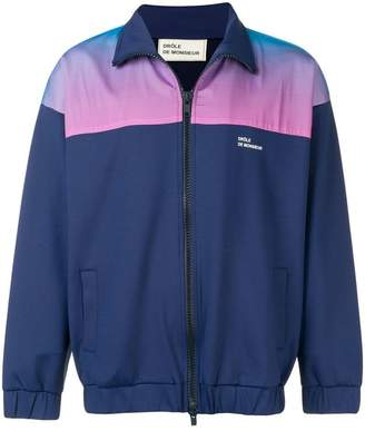 Drôle De Monsieur shaded track jacket
