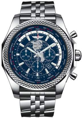 Breitling Stainless Steel Bentley B05 Unitime Chronograph Watch 49mm