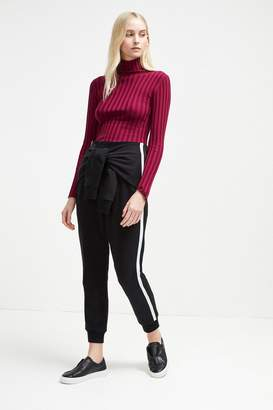 French Connenction Tied Sleeve Tri-Blend Sweat Trousers