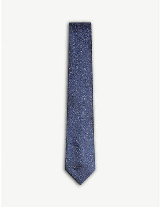 Lanvin Speckled dot silk tie