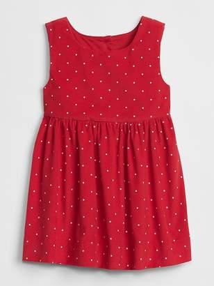 Gap Cord Dot Tank Dress
