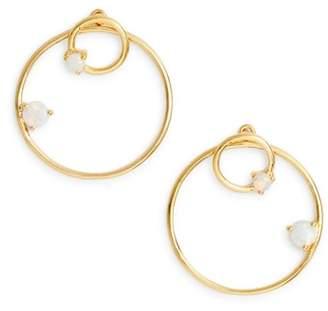 Argentovivo Sydney Double Open Ring Earrings