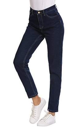 Romanstii Jeans for Juniors&Women,High Waisted Modern Pants