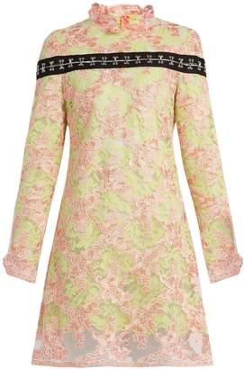 Marques Almeida MARQUES'ALMEIDA Semi-sheer floral-lace dress