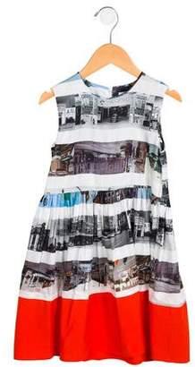 Wolf and Rita Girls' Printed Sleeveless Dress