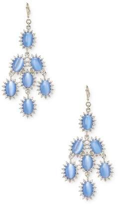 Kenneth Jay Lane Women's Cabochon Chandelier Statement Earrings