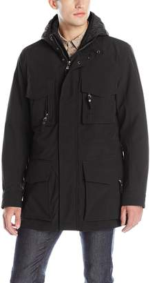 Andrew Marc Men's Empire Bonded Rain 3-In-1 Parka