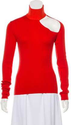 Dion Lee Wool Spiral Sleeve Skivvy Sweater w/ Tags