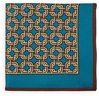 Bigi Men's Abstract-Geometric-Print Pocket Square