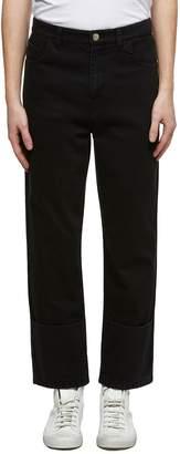Raf Simons Straight Leg Cropped Jeans