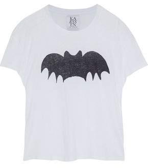 Zoe Karssen Printed Slub Jersey T-Shirt
