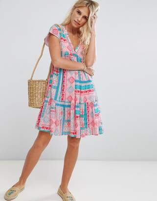 Seafolly vacay printed beach dress