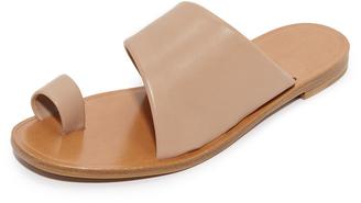 Diane von Furstenberg Ello Toe Ring Sandals $178 thestylecure.com