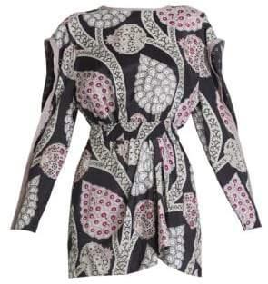 Isabel Marant Women's Julia Plunge Back Dress - Size 34 (00)