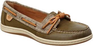 Sperry Women's Barrelfish Leather Boat Shoe
