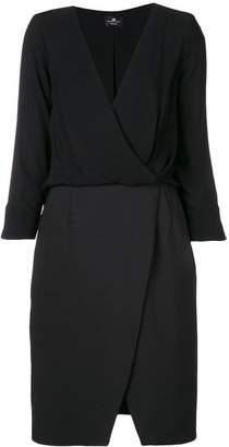 Elisabetta Franchi mid-length wrap dress