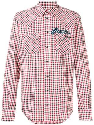 Dolce & Gabbana tartan check shirt