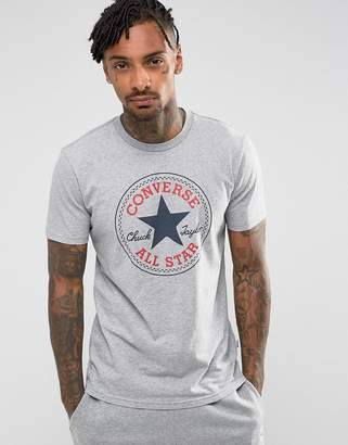 Converse Chuck Patch T-Shirt In Gray 10002848-A03