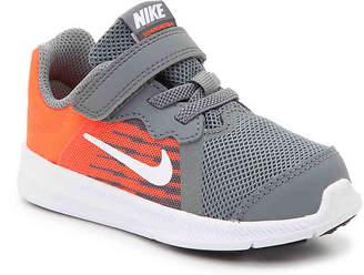 Nike Downshifter 8 Infant & Toddler Sneaker -Grey/Orange - Boy's