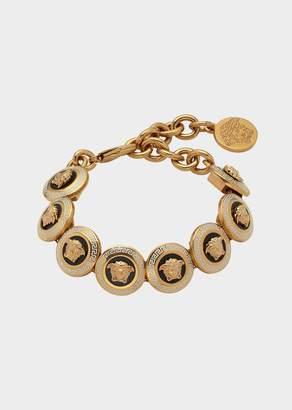 Versace Enamel Medusa Icon Bracelet