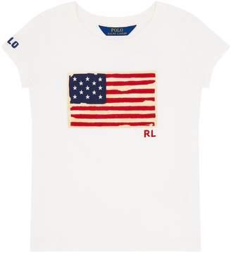 Polo Ralph Lauren American Flag Short Sleeve T-Shirt