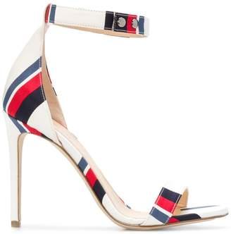 Monse striped open-toe sandals