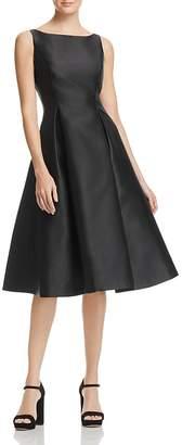 Adrianna Papell Sleeveless Tea-Length Dress $160 thestylecure.com