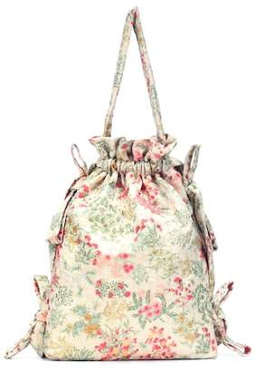 Simone Rocha Floral-printed bucket bag