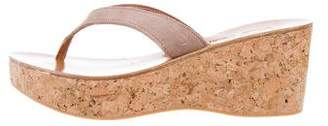 K Jacques St Tropez Platform Cork Wedges