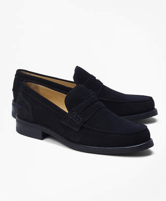 Brooks Brothers Sporty Suede Penny Loafers