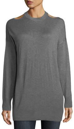 Splendid Canarise Cutout Cashmere-Blend Sweater
