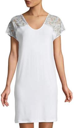 Zimmerli Cruise Short-Sleeve Nightgown