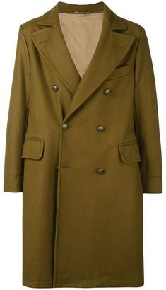Fortela double-breasted buttoned coat