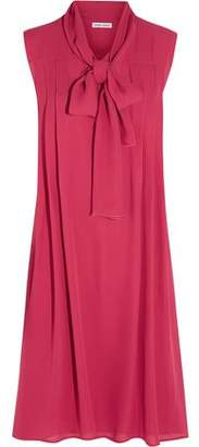 Tomas Maier Silk-Georgette Dress