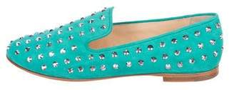 Giuseppe Zanotti Dalila Embellished Loafers w/ Tags