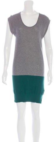 Alexander WangT by Alexander Wang Colorblock Sweater Dress