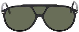 Persol Black and Green 3 Lenses Sunglasses