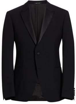 Emporio Armani M Line Stretch Wool Tuxedo