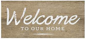 Pottery Barn Welcome to Our Home Panel