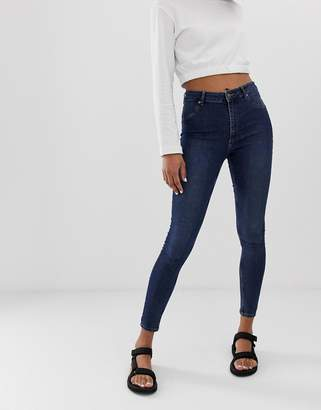 Cheap Monday Spray On High Waist Organic Cotton Skinny Jeans