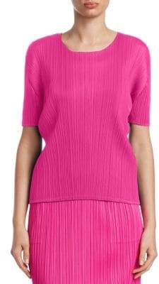 Pleats Please Issey Miyake New Colorful Basic II Pleat Top