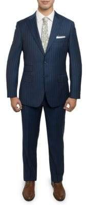 English Laundry Wool Pinstripe Suit