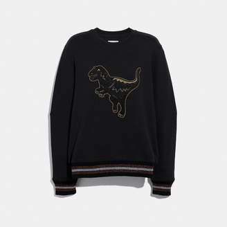 Coach Embroidered Rexy Sweatshirt