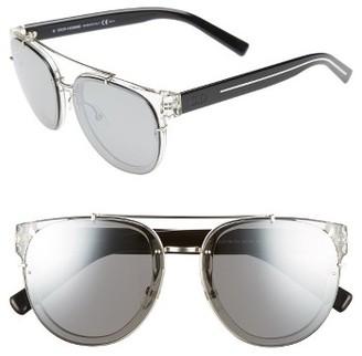 Men's Dior Homme 'Black Tie' 56Mm Sunglasses - Crystal Black Crystal $410 thestylecure.com